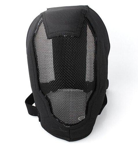 V6 Высококачественная Стальная Сетчатая фехтовальная маска, охотничьи маски, защитные тактические маски для лица, шлем, покрытие для лица, у...
