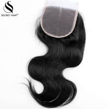 Brazilian Closure Body Wave Top (4*4) 8-20 inch Closures Human Virgin Hair Weave Light Brown Full French Body Wave Lace Closure