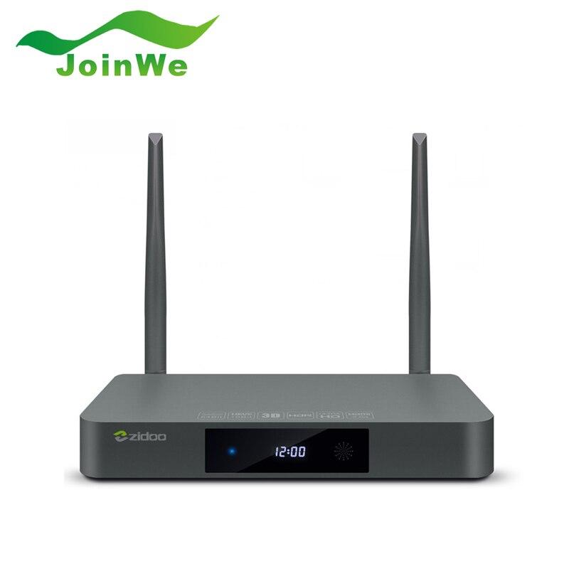 Hot sale Zidoo X9S 2G 16G Android 6.0+OpenWRT dual system Lollipop TV Box RTD1295 Quad-Core Gigabit LAN Dual Wifi BT4.0 zidoo x6 pro tv box 2g 16g android 5 1 rockchip r3368 wifi bluetooth4 0 1000m ethernet gigabit lan