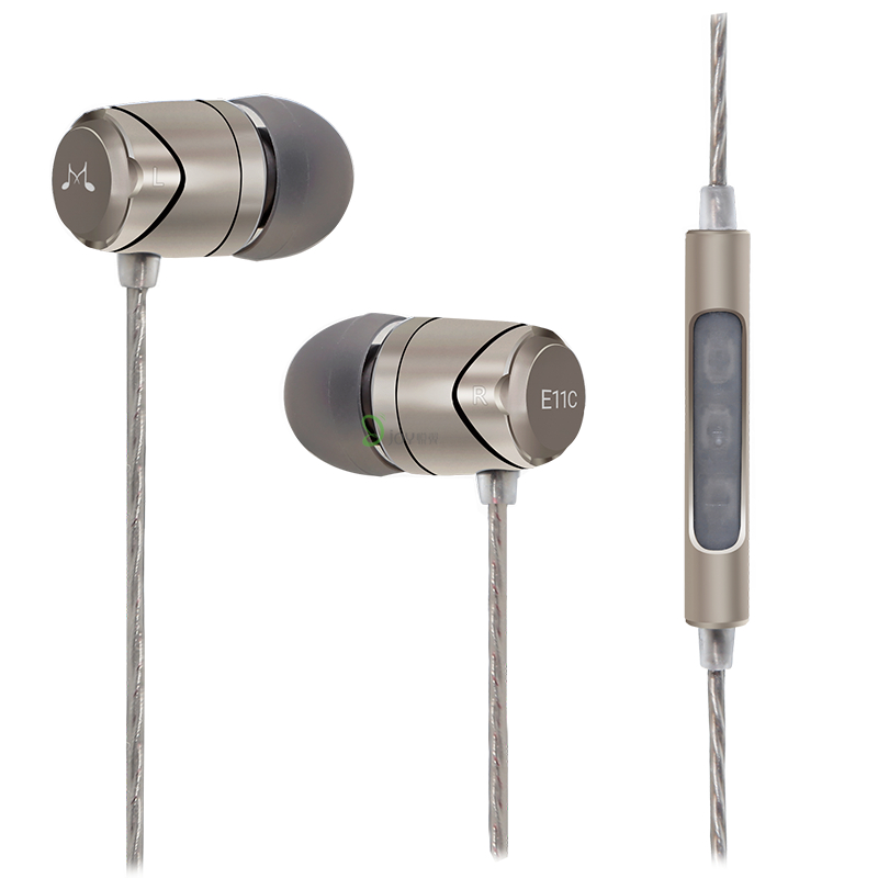 New SoundMAGIC E11C In-Ear Isolating earphones with microphone heavy bass music ear mobile earphone стоимость