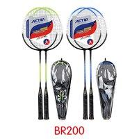 ACTEI badminton racket professional badminton racket iron alloy 1 double bag training badminton racket sports equipment durable