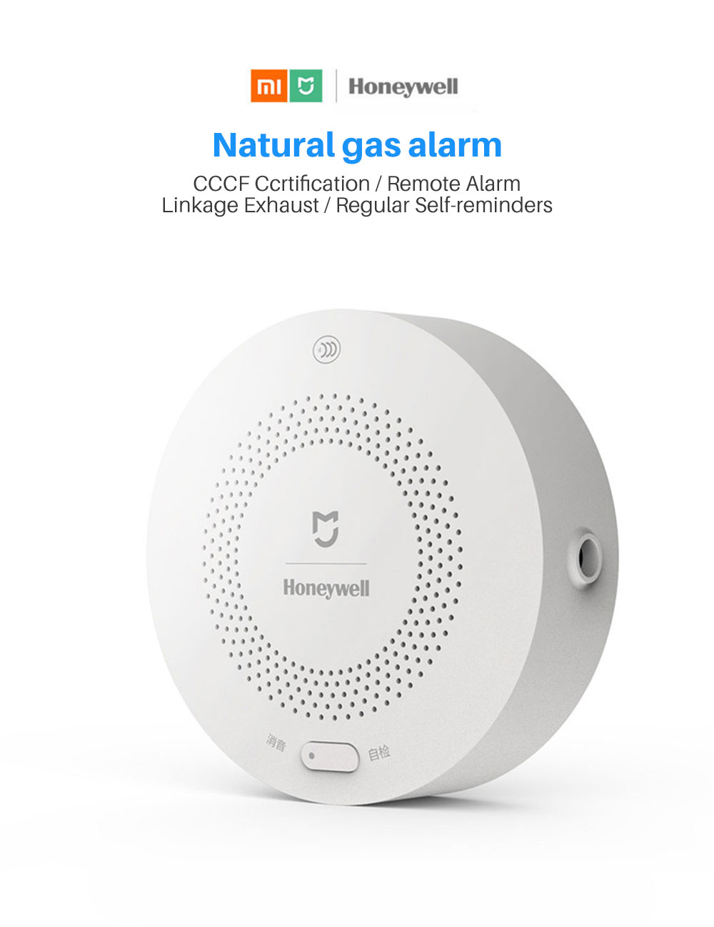 Natural gas alarm