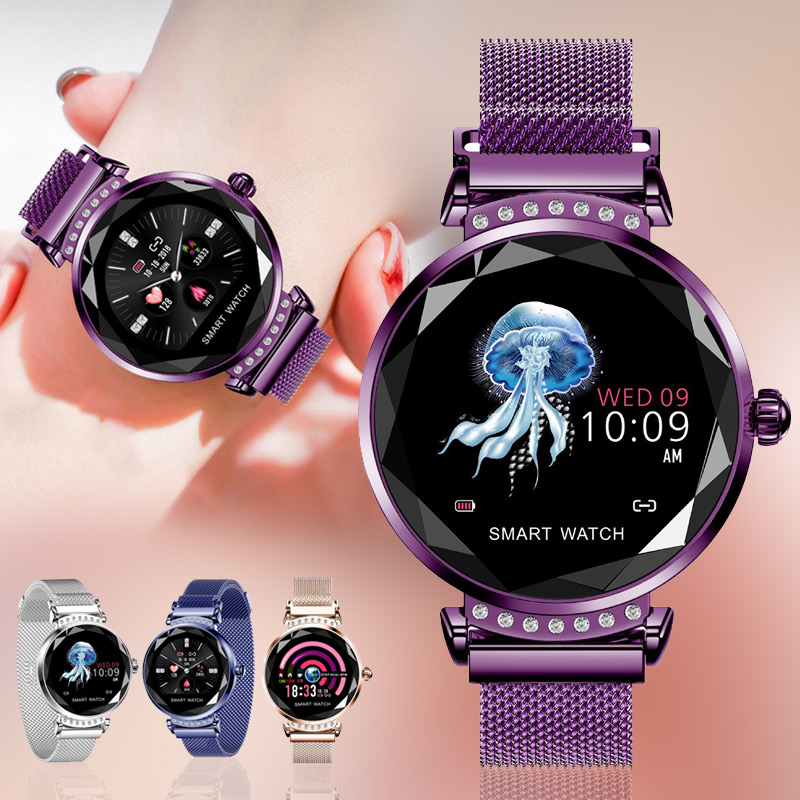 1 Pcs Women Smart Watch Bracelet Heart Rate Monitor Waterproof for Android iOS @M231 Pcs Women Smart Watch Bracelet Heart Rate Monitor Waterproof for Android iOS @M23
