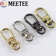 5pc 8mm Leather Belt Bag Chain Strap Metal Buckles Clasp Lobster Dog Collar Swivel Trigger Clips Snap Hook DIY Handbag Accessory