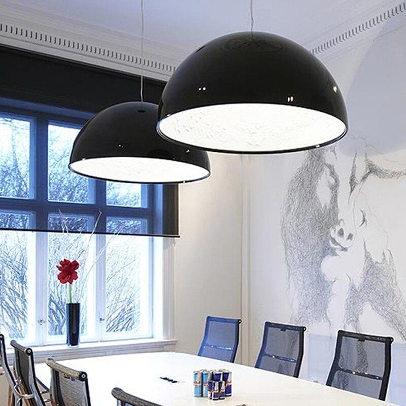 Modern Lustre Resin Led Pendant Chandeliers Light Simple Sky Garden Dining Room Chandelier Lighting Led Hanging Lights Fixtures