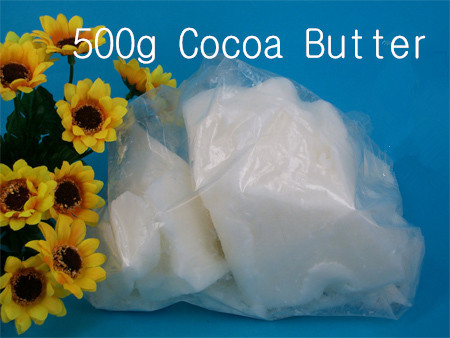 цена на Free Shipping 500g Cocoa Butter Handmade Soap Lipstick Base Natural White Raw Hand Made Supplies