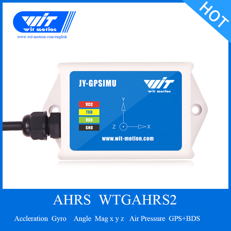 WTGAHRS2 GPS + Beidou Antenne Navigation Position Geschwindigkeit Tracker 3 Axis Beschleunigungsmesser technologie + Gyro + Winkel + Magnetometer + barometer-in Smart Activity Tracker aus Verbraucherelektronik bei  Gruppe 1