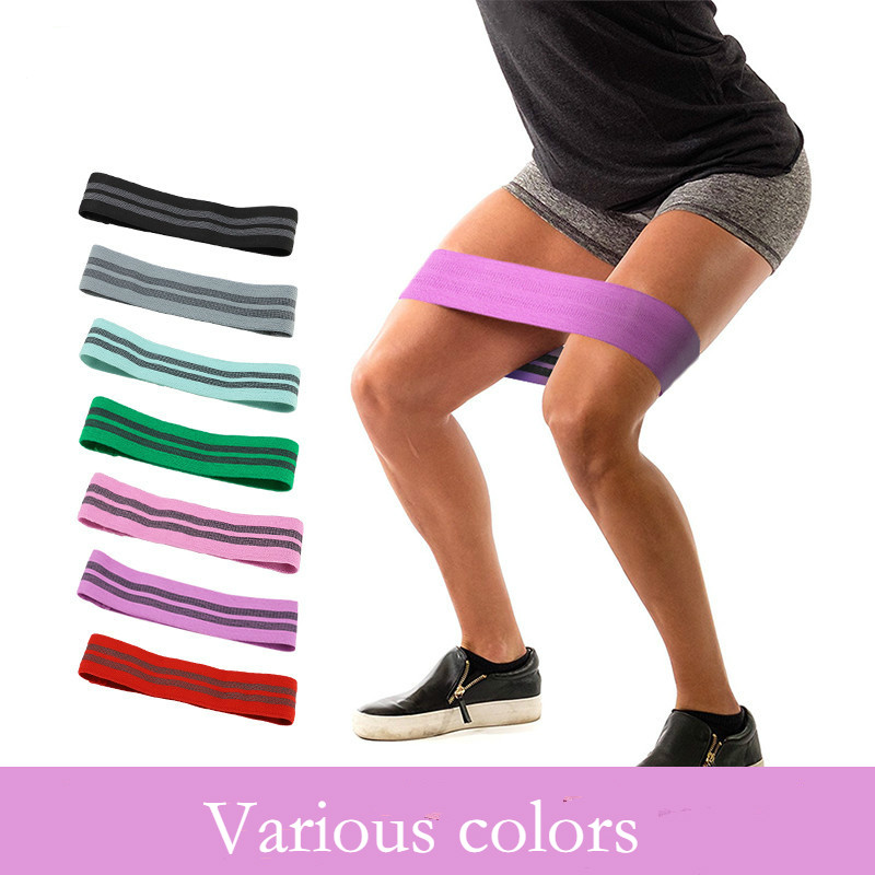 Resistance Hip Band Soft Non Slip Rubber Fitness Highly