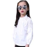 90db6488 Girls Shirts For Kids Lace Blouses Children Clothing High Quality Autumn  Baby Blouses Infants Clothes 4. Camisas de niñas para niños blusas encaje  ...