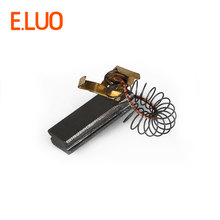 30*11*6mm motor carbon brush with high quality of blowing machine parts for various blowing machine цена
