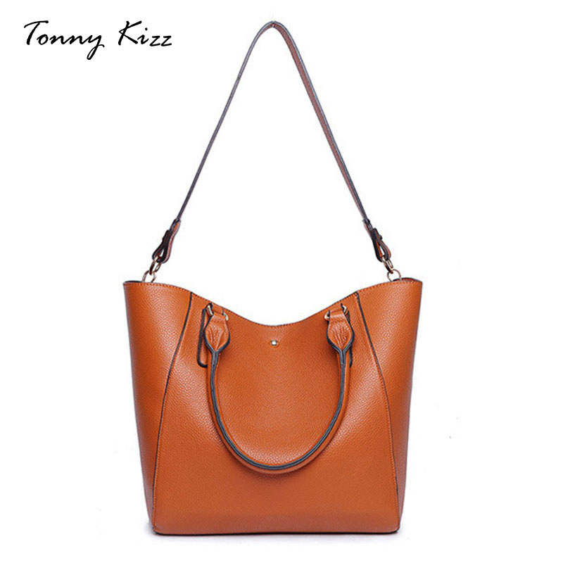 Tonny Kizz 2 Pcs/Set Women HandBag Large Capacity Tote Messenger crossbody Bag for Women 2018 PU Leather Casual Composite Pocket tassels pu leather pocket tote bag page 3