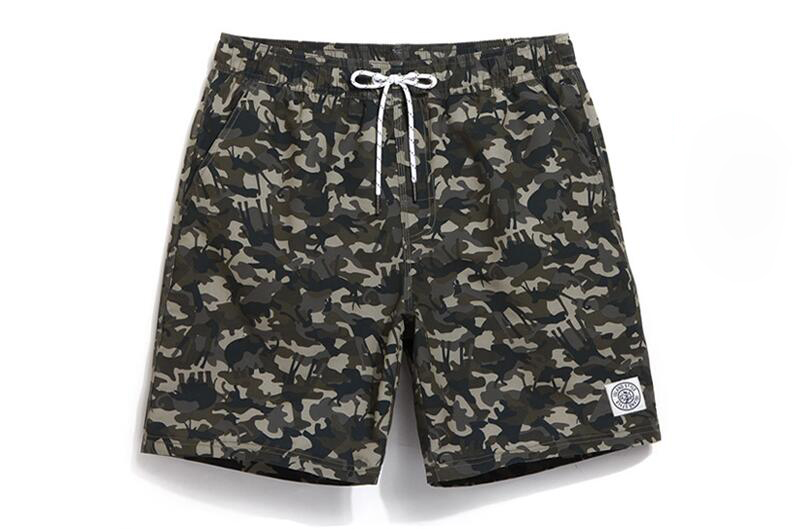 Homens Swimwear maillot de bain swimming shorts