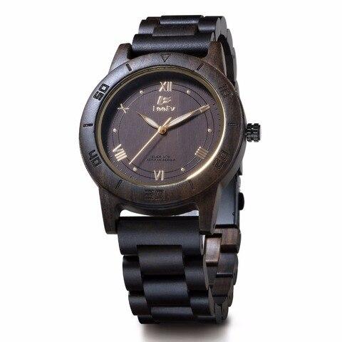 Marca de Luxo Sandália de Madeira Amantes de Quartzo Relógios de Pulso Presente de Natal Mujer de Madeira Nova Chegada Relógios Homens Relojes 2020 Top