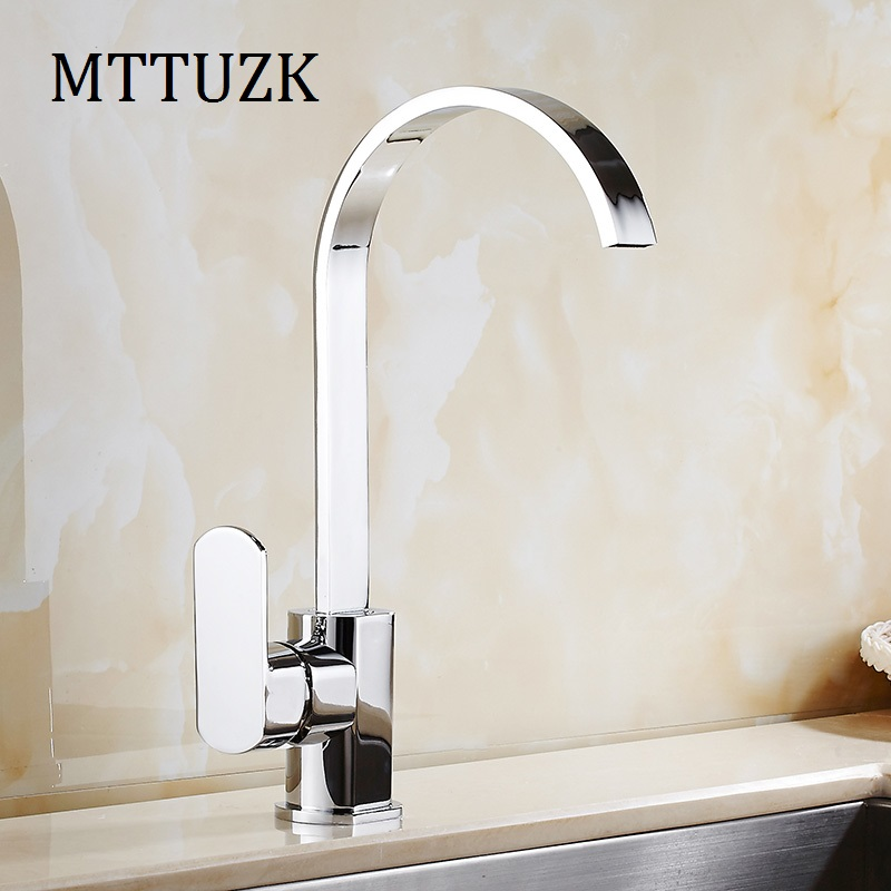 MTTUZK Free Shipping New Design Bathroom Basin Mixer Tap waterfall water taps Faucet Vessel Mixer Brass