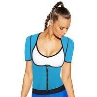 High Quality Neoprene Sauna Waist Trainer Vest Workout Shapewear Slimming Adjustable Sweat Belt Body Shaper Bodysuit