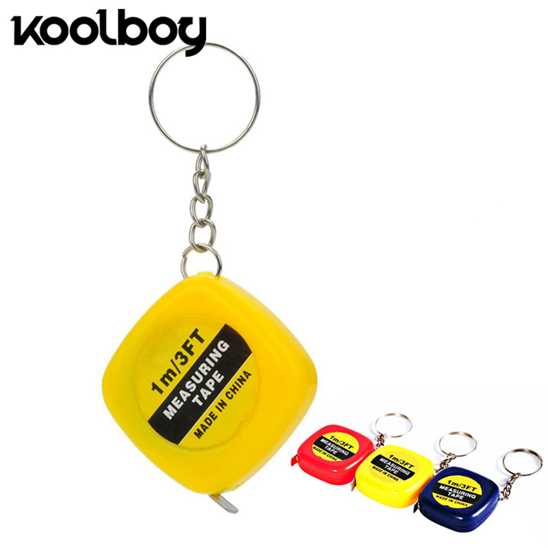 Measuring & Gauging Tools Retractable Tape Measure Vinyl Ruler Keychain 100cm/3ft Weight Medical Body Measurement Soft Cloth Sewing Craft Measuring Tape Goods Of Every Description Are Available