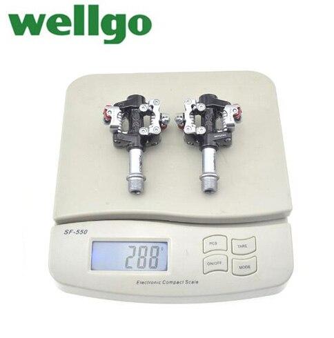 Wellgo Xpedo XMF07AC vtt vélo de route de montagne pédale de vélo pédales Clipless avec crampons compatibles SPD