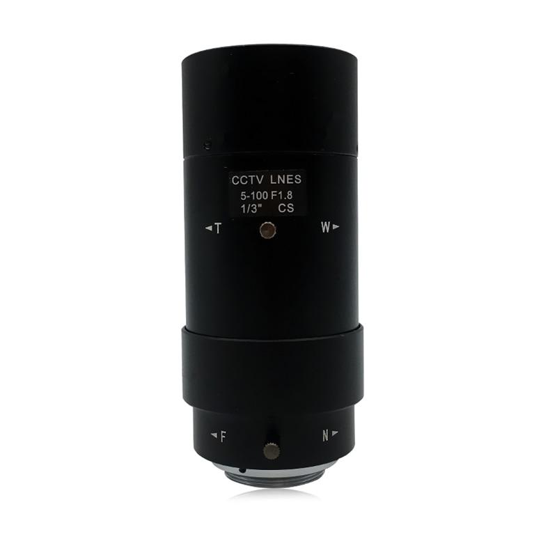 HQCAM 5-100mm CS F1.8 Lens 1/3