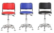 Cafe chair with foot nails Laboratory Workshop Stool Pipeline factory chair retail wholesale free shipping