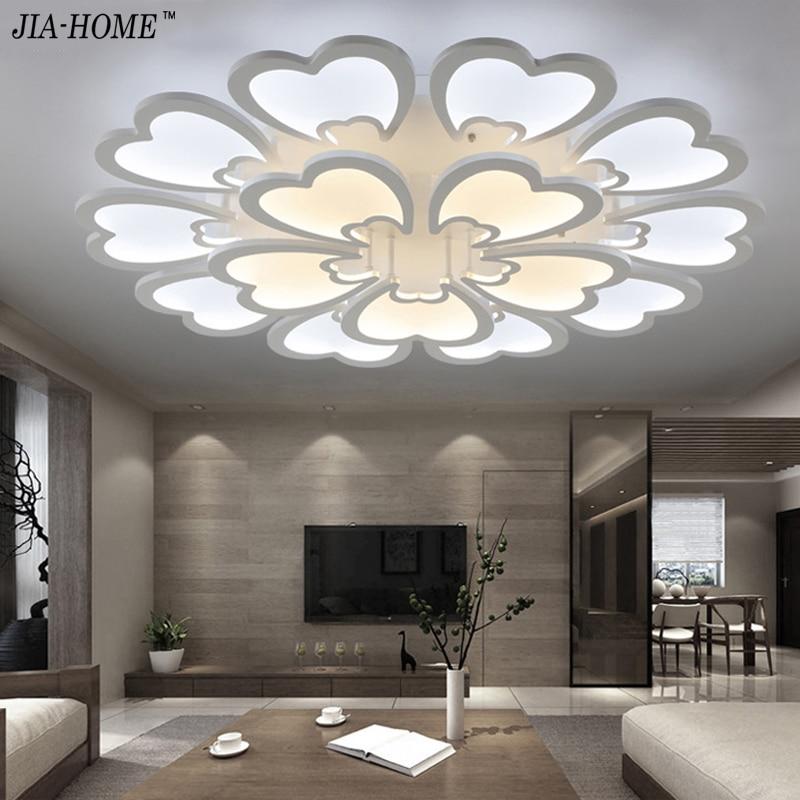 Online Kaufen Großhandel Blume Deckenleuchte Aus China Blume ... Moderne Deckenleuchten Fur Wohnzimmer
