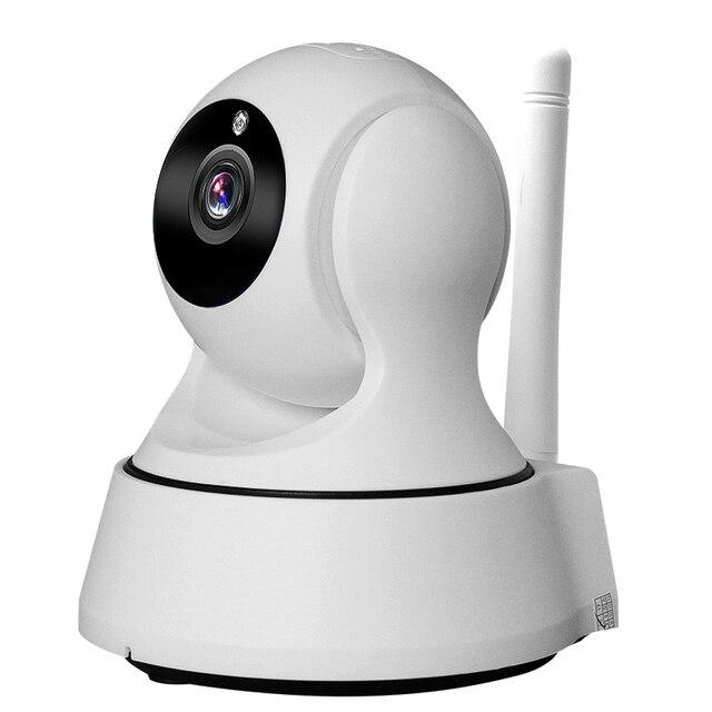 Закрытый IP Камера 2.8 мм объектив ptz Wi-Fi Камера сетевой безопасности Мини Камера HD 720 P ночного видения видеонаблюдения Камера Беспроводной