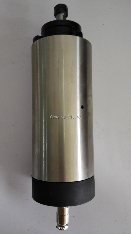 ER11 átmérőjű 80mm 1,5KW levegőhűtő orsómotor 4 csapágy a cnc router számára