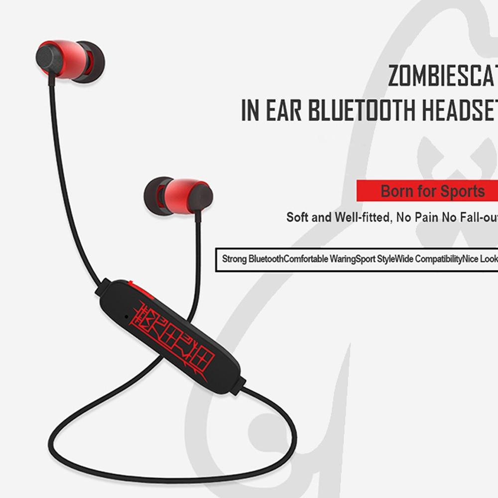 SOE Fone De Ouvido Bluetooth Audifonos Bluetooth In-ear Earbuds Wireless Earphones Ecouteur Music Zombiescat Earphone Airpods 5 bluetooth earphone headphone for iphone samsung xiaomi fone de ouvido qkz qg8 bluetooth headset sport wireless hifi music stereo