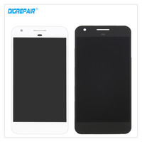 5 Black White For HTC Nexus S1 Google Pixel LCD Display Touch Screen Digitizer Assembly Repair