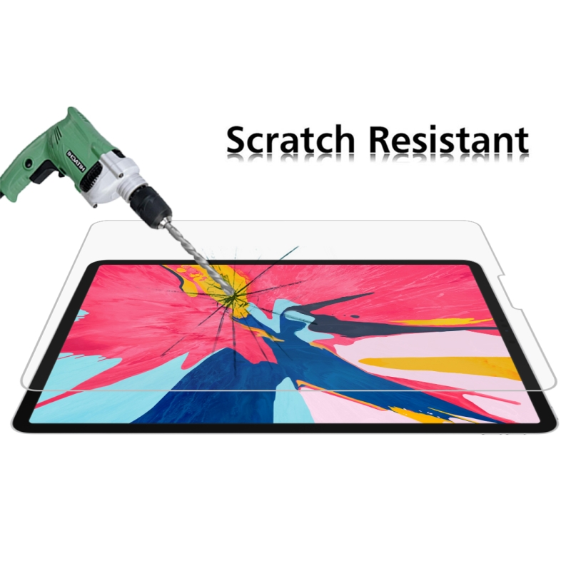 HAWEEL 0 26mm 9H Surface Hardness Straight Edge 2 5D Explosion proof Tempered Glass Film for iPad Pro 11 iPad Pro 12 9 inch in Tablet Screen Protectors from Computer Office