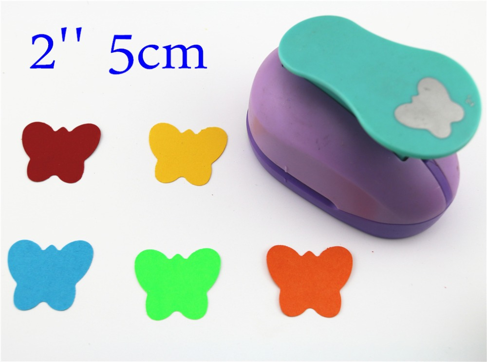 2'' 5cm Butterfly Paper Punch Puncher Large Craft Punch DIY Children Toys