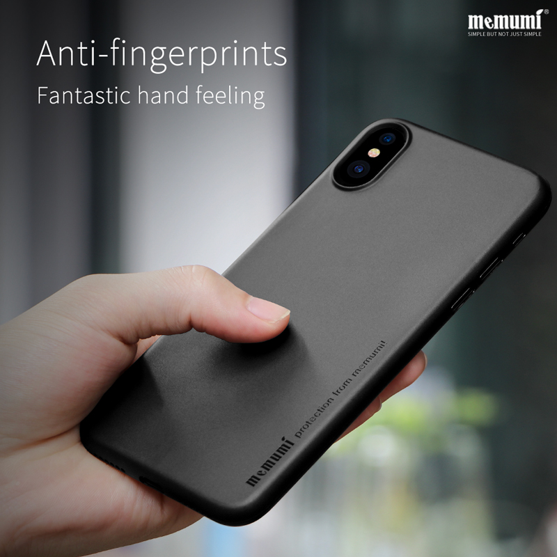 timeless design f047b 53349 US $11.69 10% OFF memumi Ultra thin Case for iPhone X Slim PP 0.3mm Cases  Cellphone Back Cover for Apple iphonex with Anti Fingerprints iPx 10-in ...