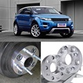 4pcs  5X108 63.4CB 25mm Thick Hubcenteric Wheel Spacer Adapters For Land Rover Freelander 2/Evoque