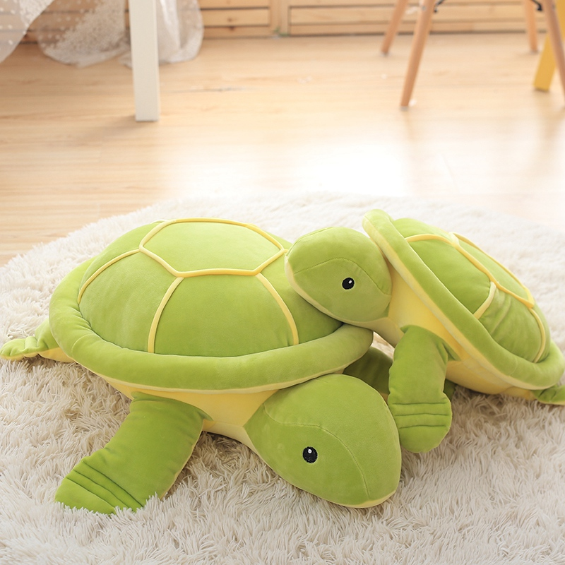 Huge Size Cute Tortoise Plush Toys,Super Soft Turtle Doll,Turtle Plush Pillow Staffed Kids Toys Best Gift For Children plush ocean sea turtle toys soft cute pillow super soft stuffed animal turtle dolls best gifts for kids friend baby 18 5