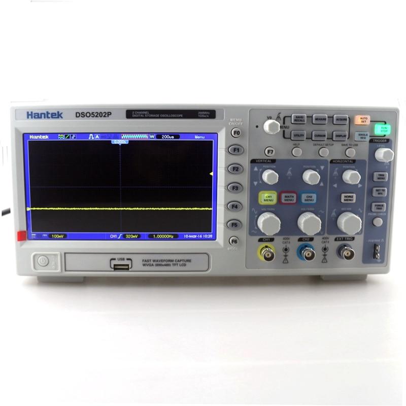 New Hantek DSO5202P Digital Storage Oscilloscope 2 Channels 7