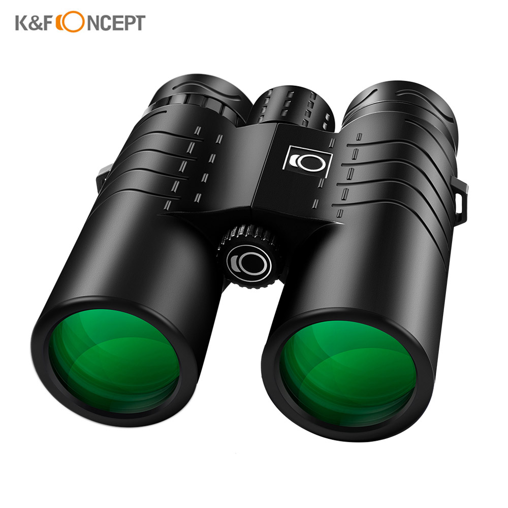K&F CONCEPT 10X42 Telescope HD IP68 Nitrogen Waterproof Low Light Night Version Telescope Binocular Bird Watching Camping Hiking