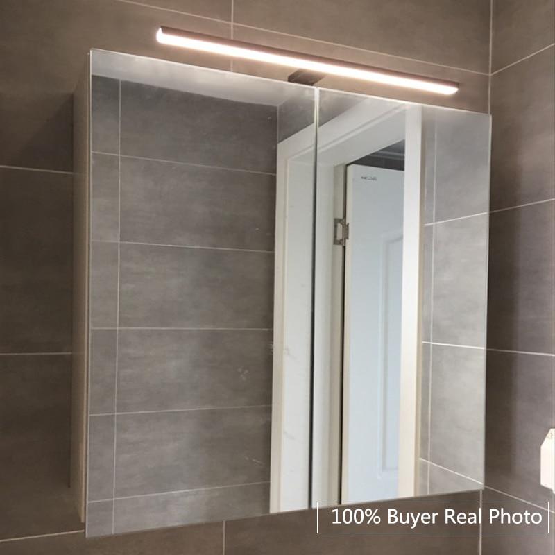fensalir brand 5w europe wall lamp ac100240v waterproof black light lampada de led long30cm bathroom mirror lights ml002300b