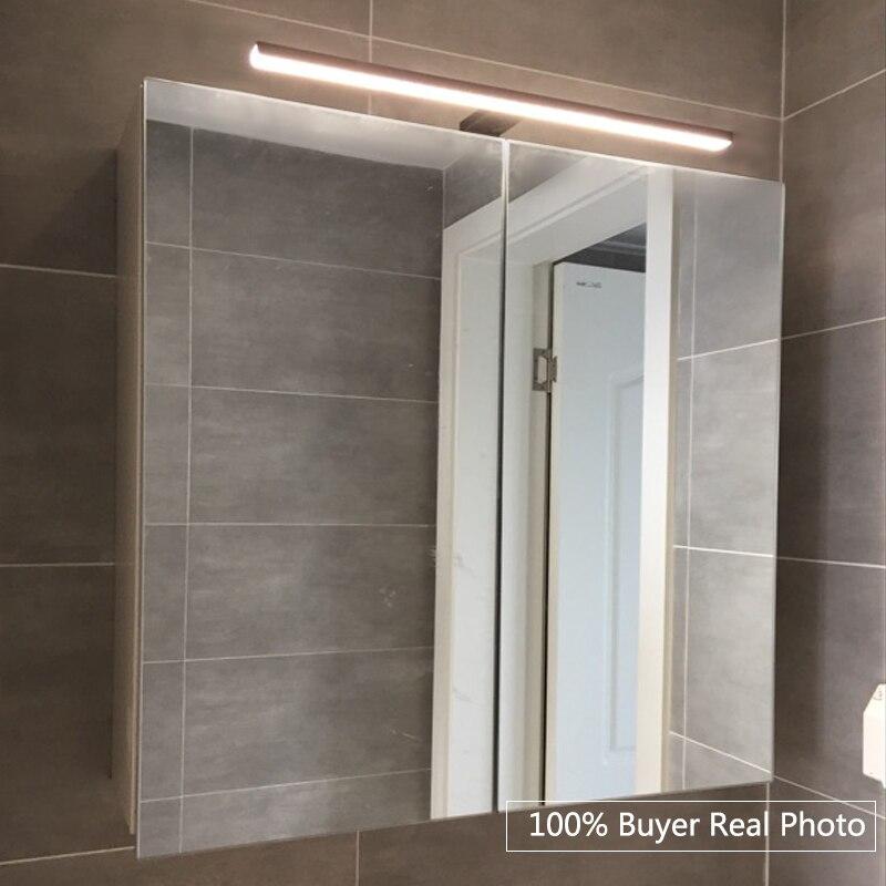 Fensalir 5W Europe LED Wall light AC100-240V Waterproof Black Light lamp 30/50 cm toilet makeup Bathroom Mirror light ML002-300B fensalir brand 6w 415mm led wall lamp ac220 230v modern waterproof toilet bar bathroom mirror light lamp ml501 415