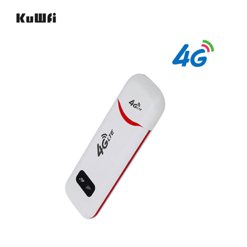 Unlocked 3G/4G USB LTE Dongle 100Mbps Pocked Wifi Router LTE USB Modem Stick With Sim Card Slot for Outdoor Car Router-in 3G/4G Routers from Computer & Office
