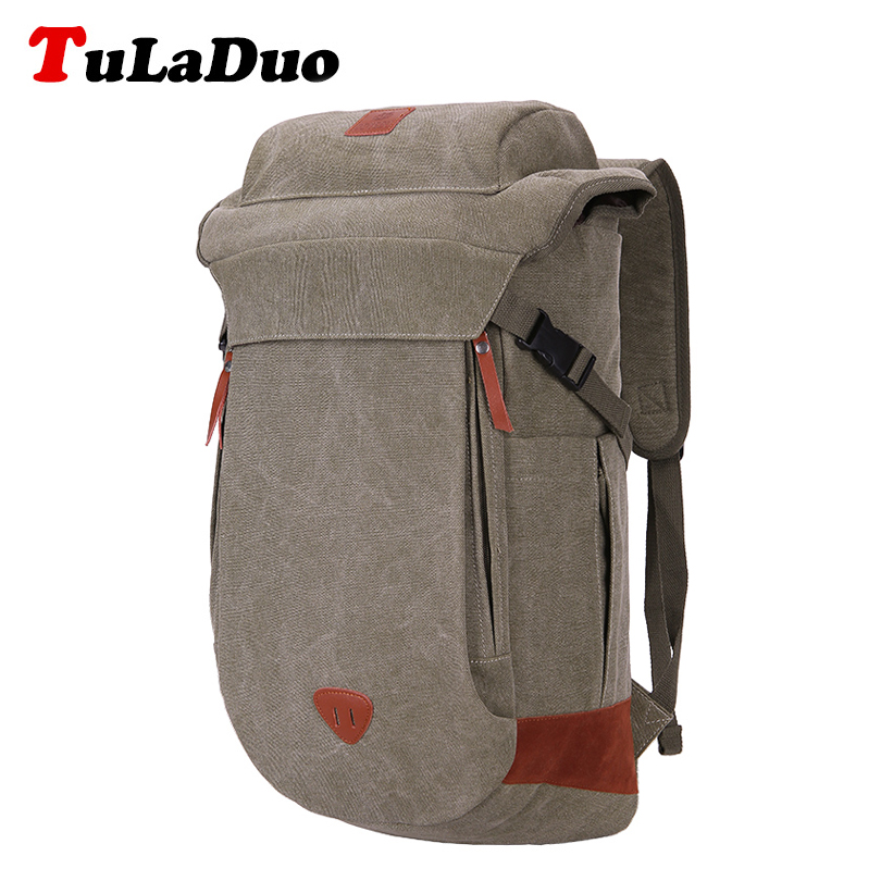 2017 New Multi functional vintage women backpack rucksack High Quality bagpack womens casual canvas luggage travel