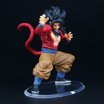 Dragon Ball GT Super Saiyan 4 Son Goku Action Figure Brinqudoes | 10cm