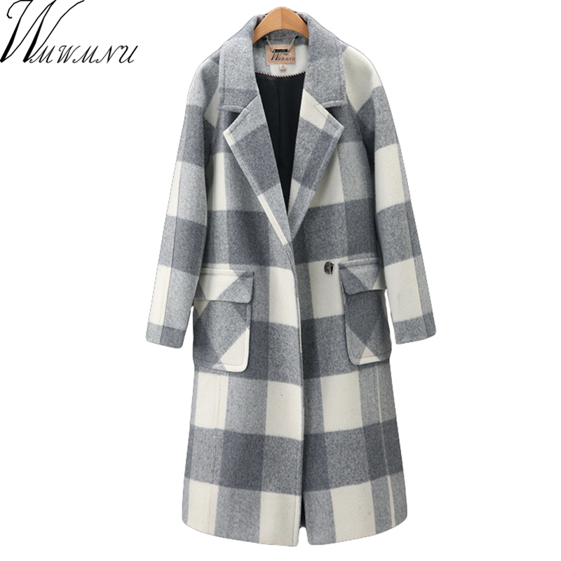 Online Get Cheap Plaid Winter Coats -Aliexpress.com | Alibaba Group