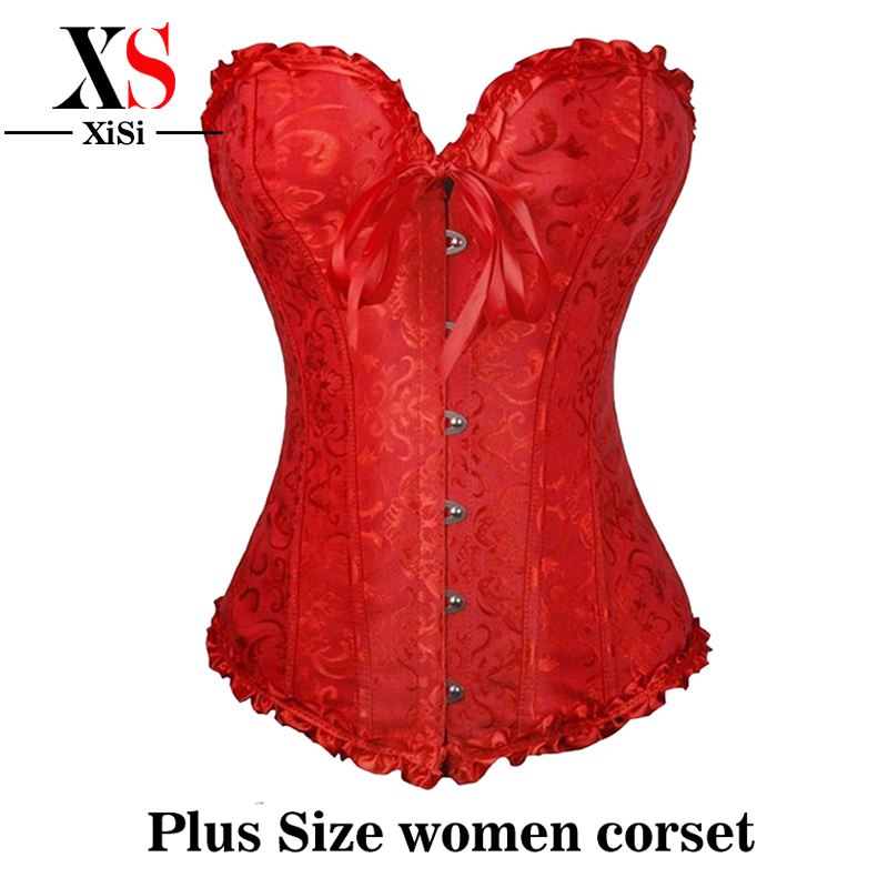 <font><b>corset</b></font> <font><b>lingeries</b></font> white lace waist cincher Red <font><b>sexy</b></font> bustier halloween <font><b>costumes</b></font> for women plus size winter clothing for woman image