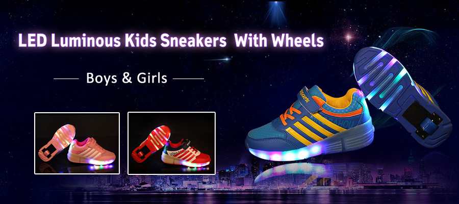 flash wheels shoes