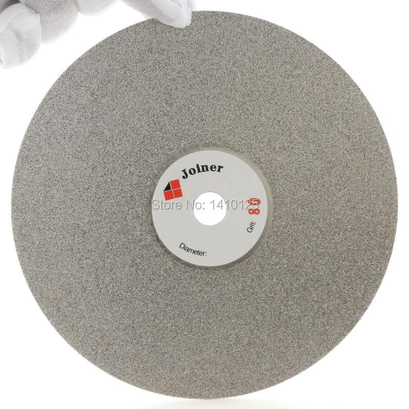 دیسک چرخدار 6 inch اینچ 150 میلی متر Grit 80 الماس چرخدار چرخ دیسک ساینده دیسک ساینده درشت برای جواهرات سنگ جواهرات سنگ لاپیداری