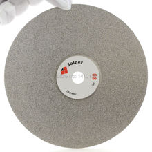 """6"""" inch 150 mm Grit 80 Diamond Grinding Wheel Coated Flat Lap Disk Abrasive Disc Coarse Tools for Gemstone Jewelry Rock Lapidary"""