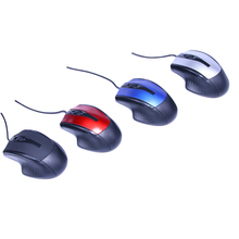 New Arrival 2.4Ghz USB Wired Optical Mouse Mice Favorable Portable Universal Gamer Cordless Adjustable for Computer PC Laptop
