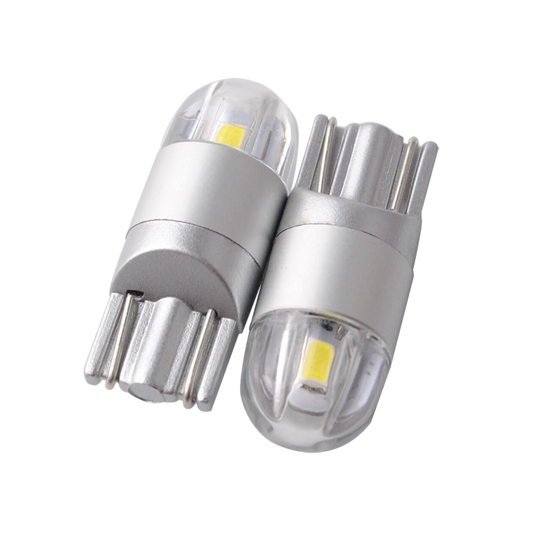 Bilstyling W5W T10 LED 3030 2SMD Autolamper 168 194 Pære LED T10 W5W - Billygter - Foto 1