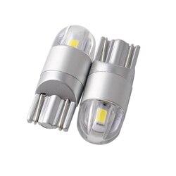 Voiture-style W5W T10 LED 3030 2SMD Lampes Auto 168 194 Ampoule LED T10 W5W Plaque Lumière Parking Phares Antibrouillard Auto Univera Voitures lumière