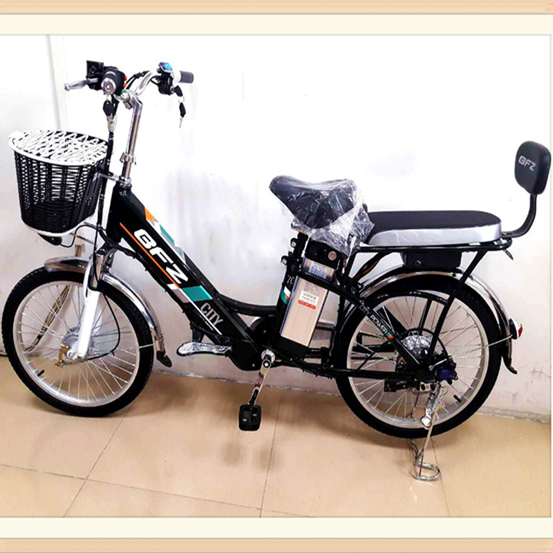 Haushalt elektrische fahrrad aluminium legierung 250 W lithium-batterie 22 zoll erwachsene batterie auto