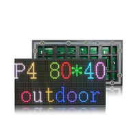 P4 SMD 3IN1 RGB full color led display module,outdoor LED panel, 1/10 scan 320*160mm, text, pictures, video show